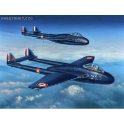 D.H. 100 Vampire FB Mk.5 Armée de l' Air & Aéronavale - 1/72 kit