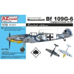 Bf 109G-6 Jagdgeschwader JG.53 - 1/72 kit