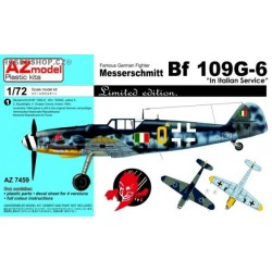 Bf 109G-6 In Italian Service - 1/72 kit