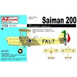 Saiman 200 Italy, USAAF - 1/72 kit