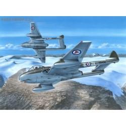 D.H. 100 Vampire FB Mk.52 In Northern Skies - 1/72 kit