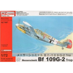 Bf 109G-2 Trop - 1/72 kit
