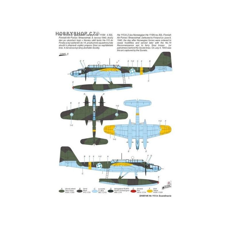 Heinkel He 115 Scandinavian Service 1 48 Kit