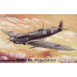 Supermarine Spitfire Mk.VII Spirit of Kent - 1/72 kit