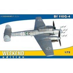 Bf 110G-4 Weekend - 1/72 kit