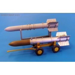 U.S. Missile Tiny Tim - long - 1/48 detail set