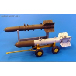 U.S. Missile Tiny Tim - short - 1/48 detail set