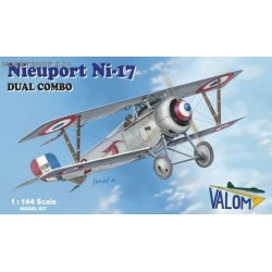 Nieuport Ni-17 Dual Combo - 1/144 kit