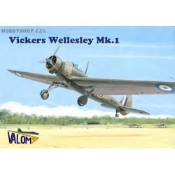 Vickers Wellesley Mk.I - 1/72 kit