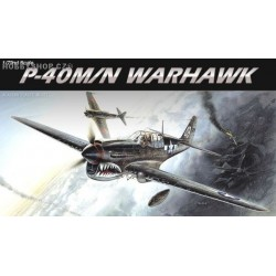 P-40M/N Warhawk - 1/72 kit