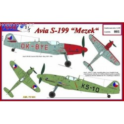 Avia S.199 Mezek (Limited Edition) - 1/72 kit