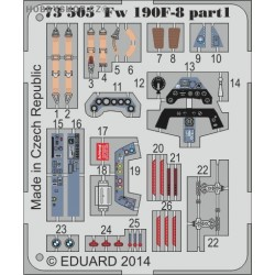 Fw 190F-8 S.A. - 1/72 painted PE set