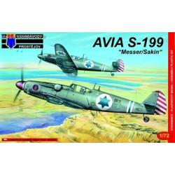 Avia S-199 Messer / Sakin - 1/72 kit