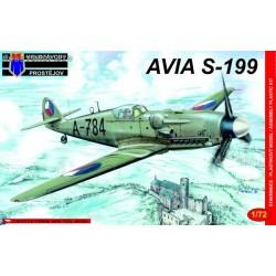 Avia S-199 Late Czechoslovakia - 1/72 kit