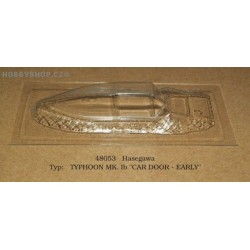 TYPHOON Mk. Ib Car Door Early - 1/48 vacu canopy
