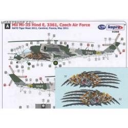 Mil Mi-35 Hind E Tiger - 1/48 decal