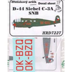 D-44 / Aero C-3A SNB - 1/72 decal