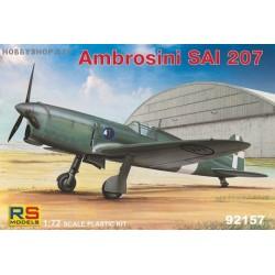 Ambrosini SAI.207 - 1/72 kit