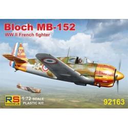 Bloch MB-152 'Vichy' - 1/72 kit
