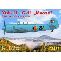 "Yak-11 / C-11 ""Moose"" DDR, Austria, USSR - 1/72 kit"