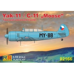 "Yak-11 / C-11 ""Moose"" CZ, Poland, Mali, Hungary - 1/72 kit"