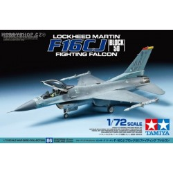 F-16CJ Fightning Falcon - 1/72 kit