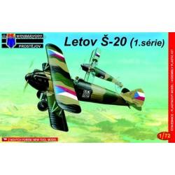 Letov Š-20 1. serie - 1/72 kit