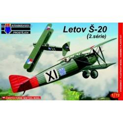 Letov Š-20 2. serie - 1/72 kit
