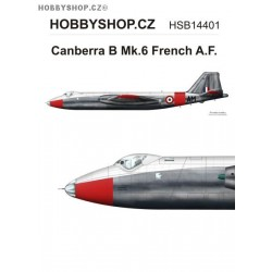 Canberra B Mk.6 Armée de l'Air - 1/144 decal