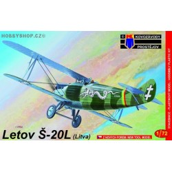Letov Š-20 Lithuania - 1/72 kit