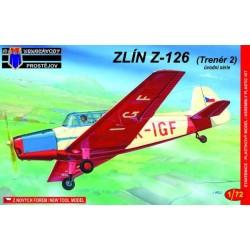 Zlin Z-126 early - 1/72 kit
