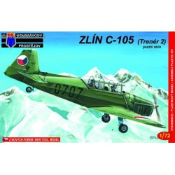 Zlin C-105 late - 1/72 kit