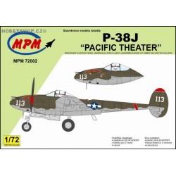 P-38J Pacific Theatre - 1/72 kit