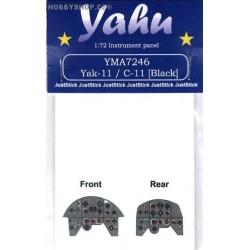 Yak-11 / C-11 [black] - 1/72 PE set
