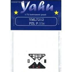 PZL P.11c - 1/72 PE set