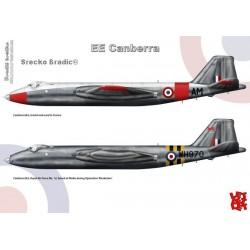 E.E. Canberra A3 print by Srecko Bradic