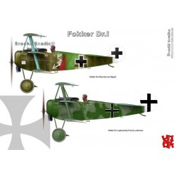 Fokker Dr.I A3 print by Srecko Bradic