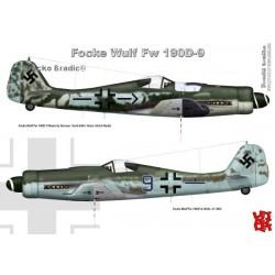 Fw 190D-9 A3 print by Srecko Bradic