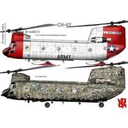 CH-47 - A3 print by Srecko Bradic