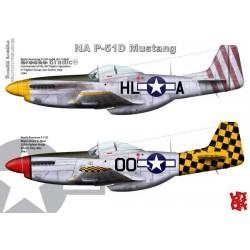 P-51D Mustang - A3 print by Srecko Bradic
