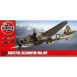 Bristol Blenheim Mk.IVF - 1/72 kit