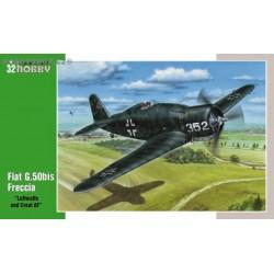 Fiat G.50bis Freccia Luftwaffe & Croatia - 1/32 kit