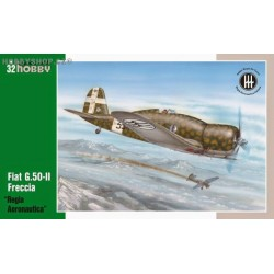 Fiat G.50-II Freccia Regia Aeronautica - 1/32 kit