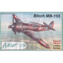 Bloch MB.155 - 1/72 kit