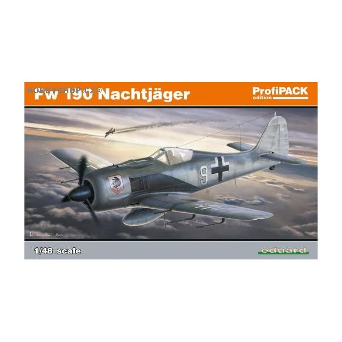 Fw 190A Nightfighter ProfiPACK - 1/48 kit
