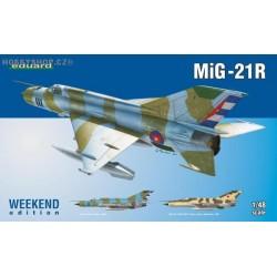 MiG-21R Weekend - 1/48 kit