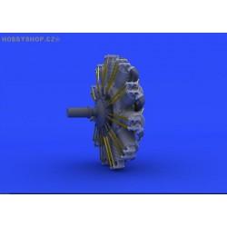 SSW D.III engine - 1/48 update set
