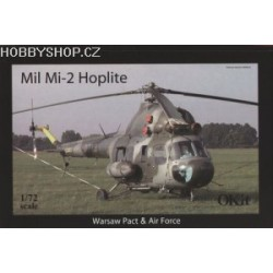 Mil Mi-2 Hoplite Warsaw pact & Air Force - 1/72 kit