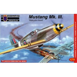 Mustang Mk.III (Malcolm canopy) - 1/72 kit