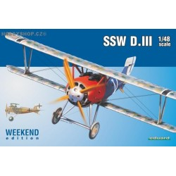 SSW D.III Weekend - 1/48 kit